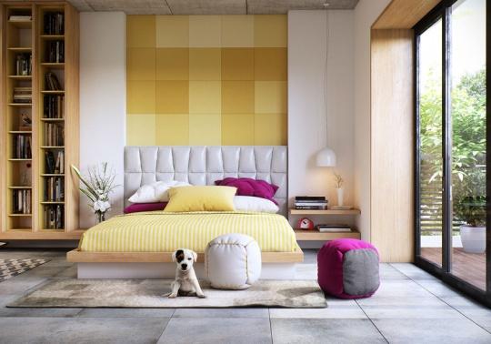 اتاق خواب مدرن و زیبا