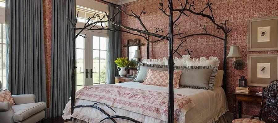 طرحها و ایدههایی برای دکور بالای تخت خواب