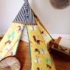 خیمه های چادری کودکانه برای طراحی و تزیین دکوراسیون اتاق بچه ها