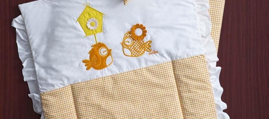سرویس نوزاد 3 تکه طرح جیکو نارنجی